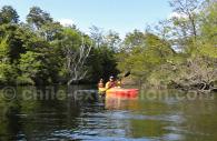 Kayak sur le rio Golondrinas