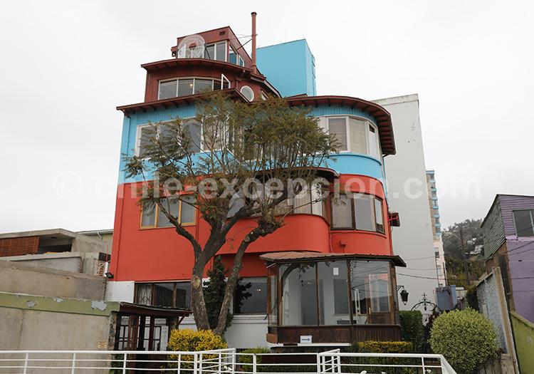 La Sebastiana maison de Pablo Neruda