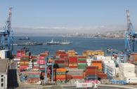 Le port industriel de Valparaiso