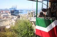 Funiculaire, port de Valparaiso