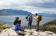 Mirador Focus au dessus de Puerto Natales