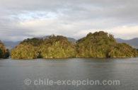 Monument naturel Cinco Hermanas, Chili
