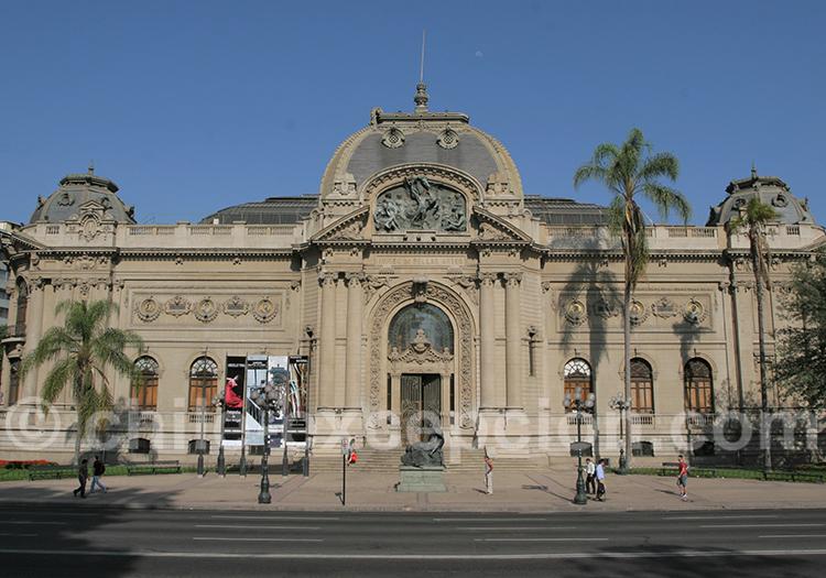 Musée National des Beaux Arts MNBA, Santiago du Chili