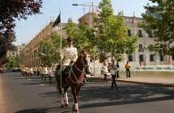 Relève de la garde, Palacio de la Moneda