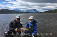Pêche sur le rio Paine