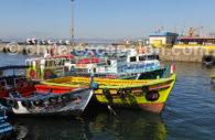 Port de pêche, Valparaiso