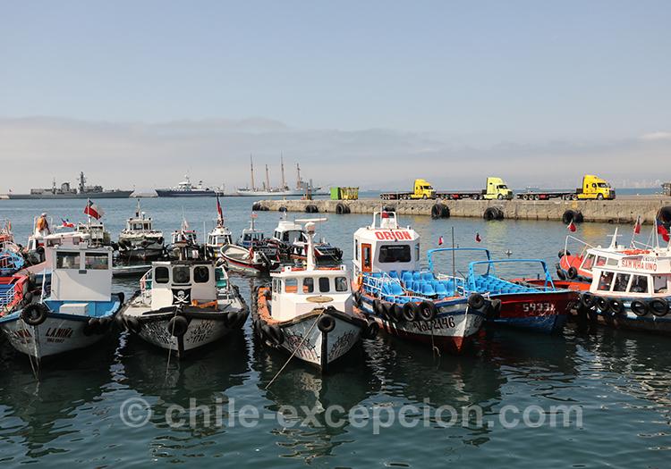 Port touristique de Valparaiso