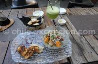 Gastronomie à Valparaiso