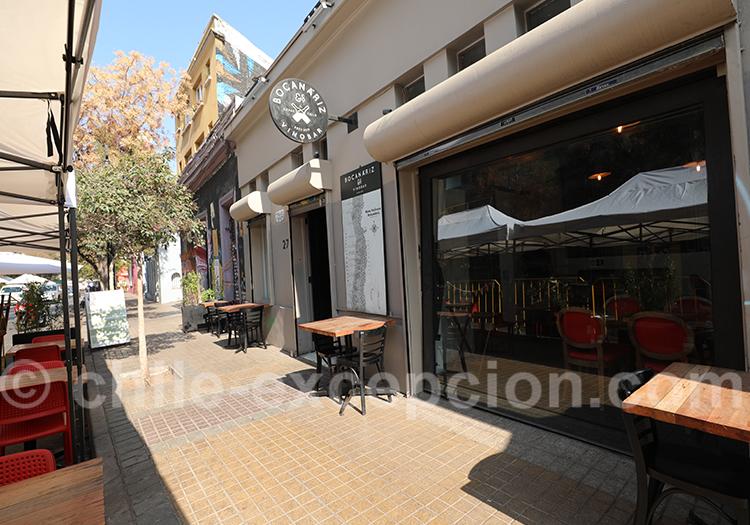 Restaurant Bocanariz, Lastarria