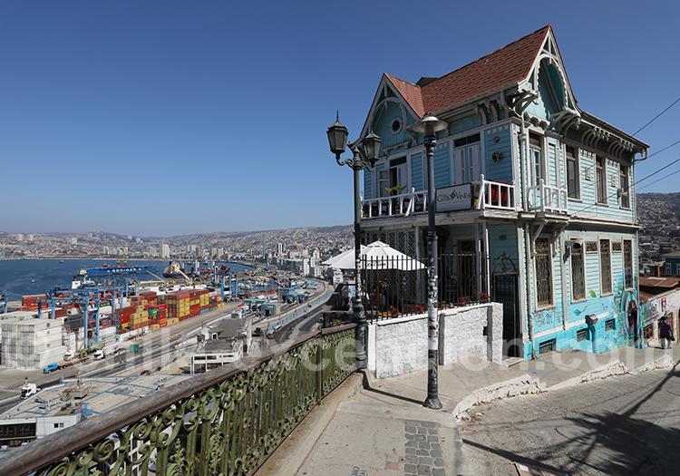 Restaurant Café Bar Casa Cuatro Vientos, Valparaiso
