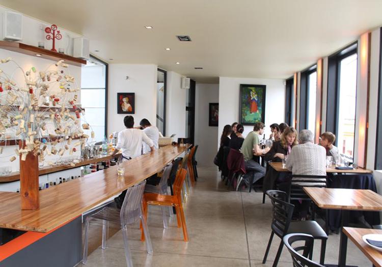 Restaurant Espititu Santo, Valparaiso