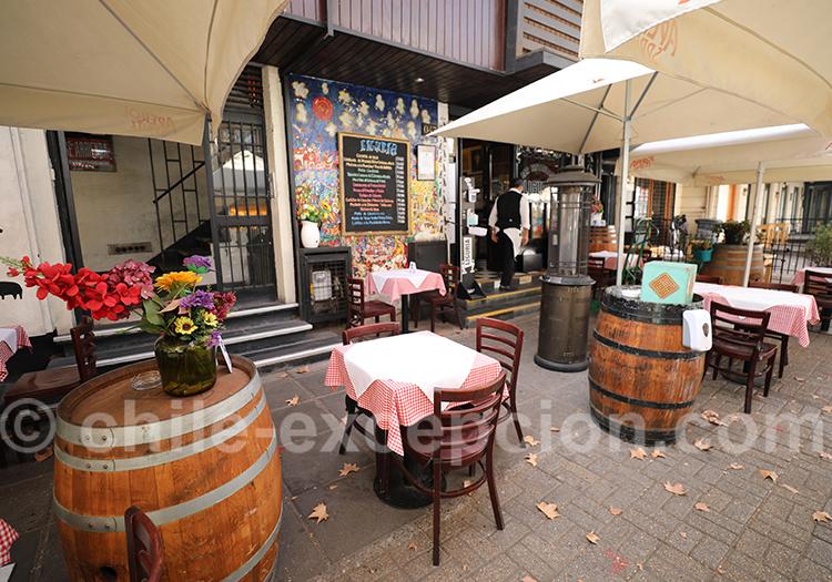 Restaurant Liguria Pedro de Valdivia