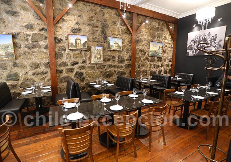 Restaurant Paparazzo, Valparaiso
