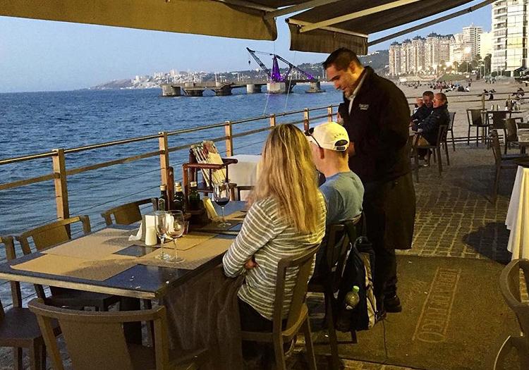 Restaurant Tierra de Fuego, Viña del Mar