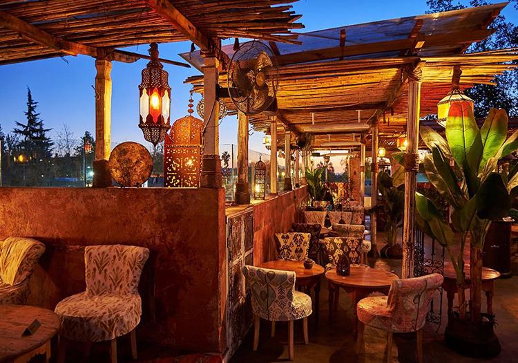 Restaurant Zanzibar, BordeRio à Santiago