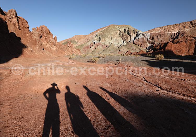 Vallée Arcoiris, Chile Excepción