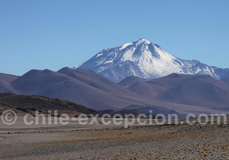 Volcan Llullaillaco, vu d'Argentine