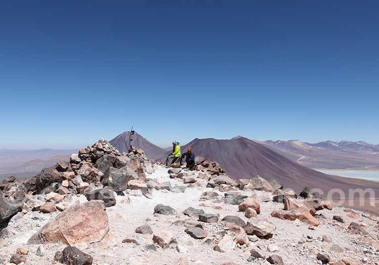 Volcan Toco, le sommet