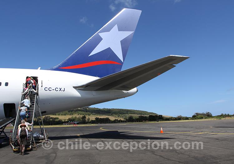 Vols domestiques pour Punta Arenas, Chili