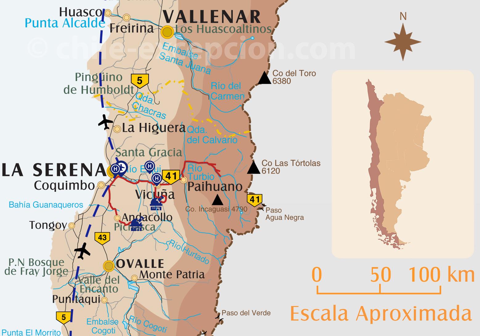 Voyage Astronomie au Chili, partie Elqui La Serena
