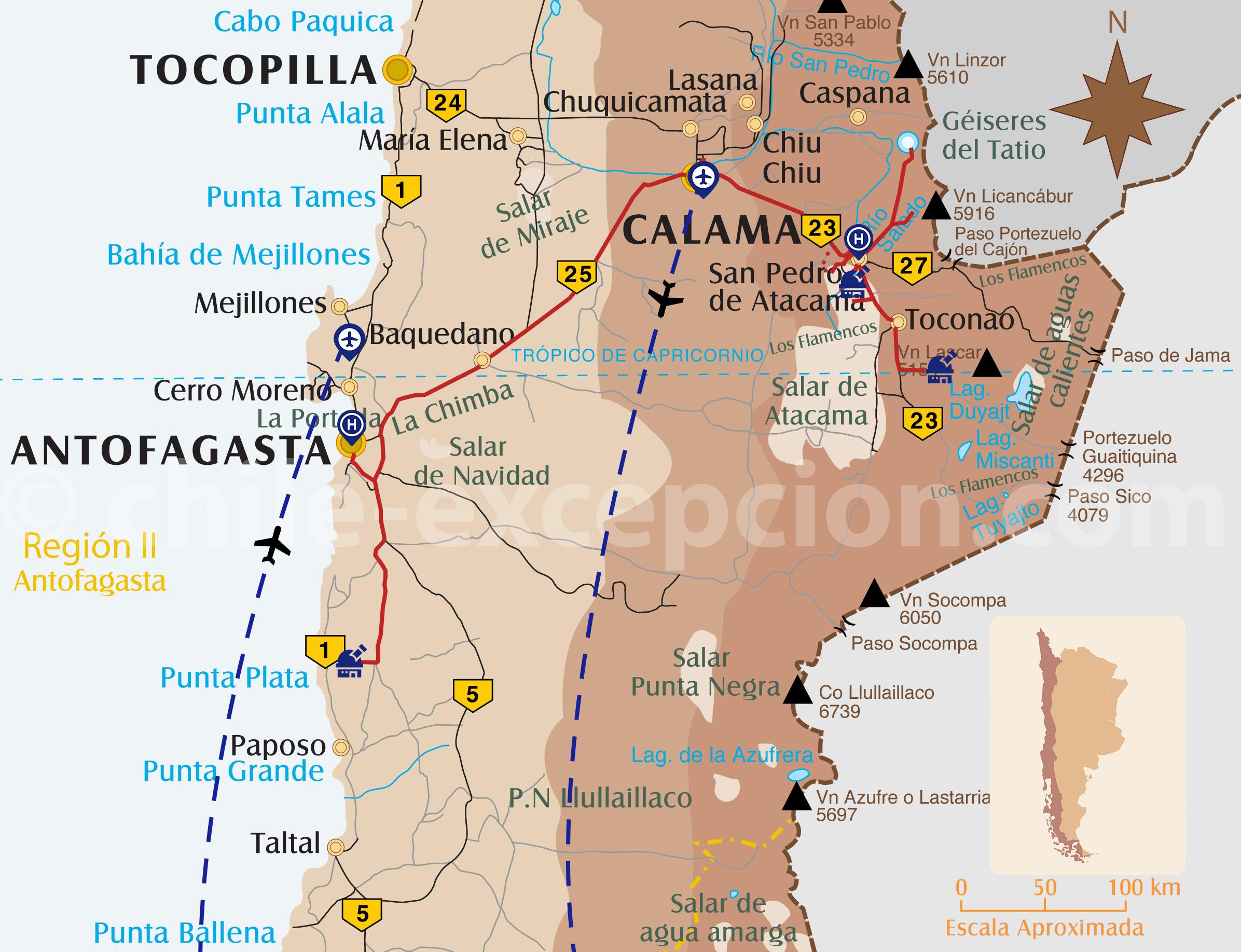 Voyage Astronomie au Chili, partie Paranal et Alma
