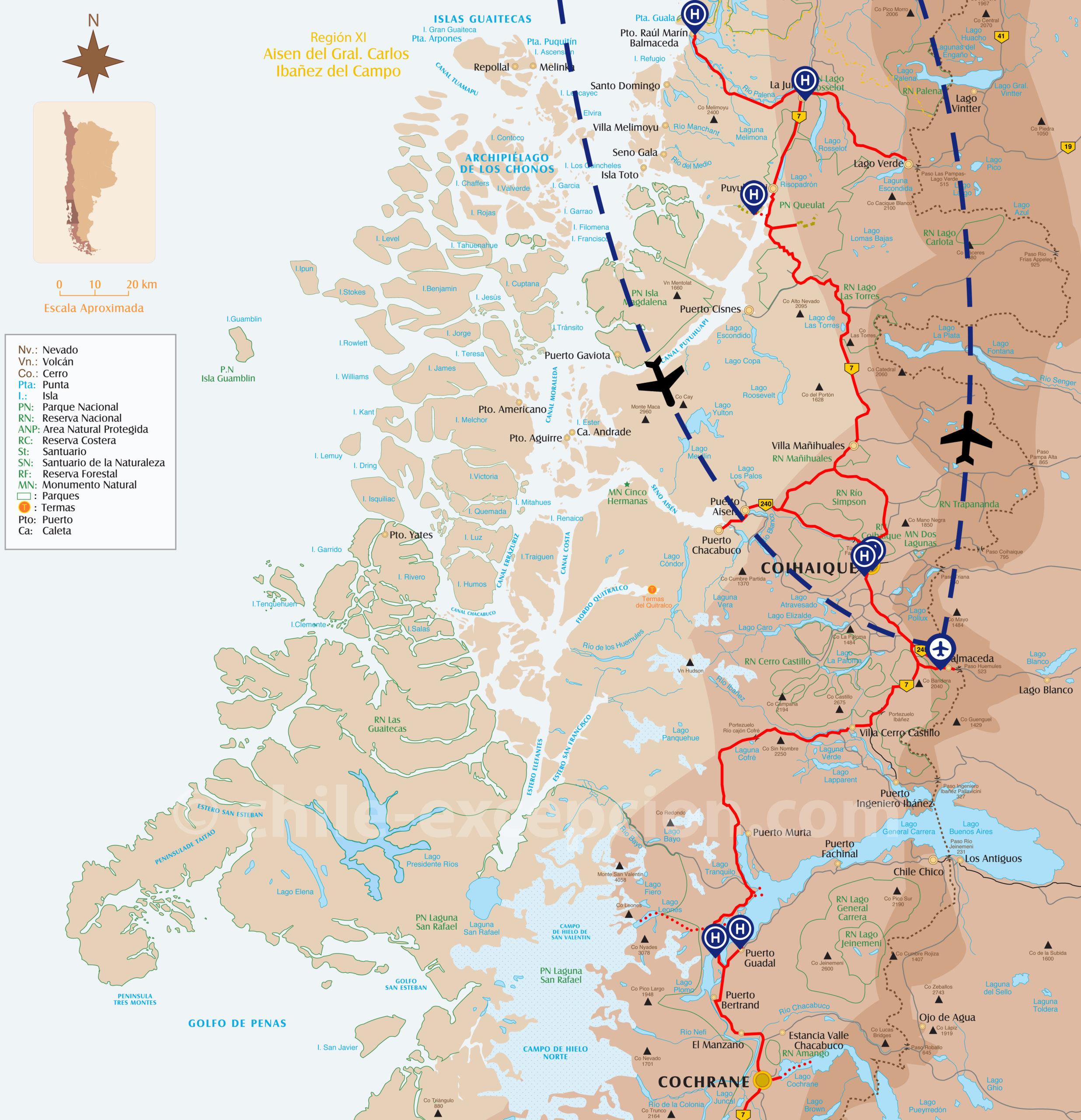 Zoom Autotour Route Australe 17