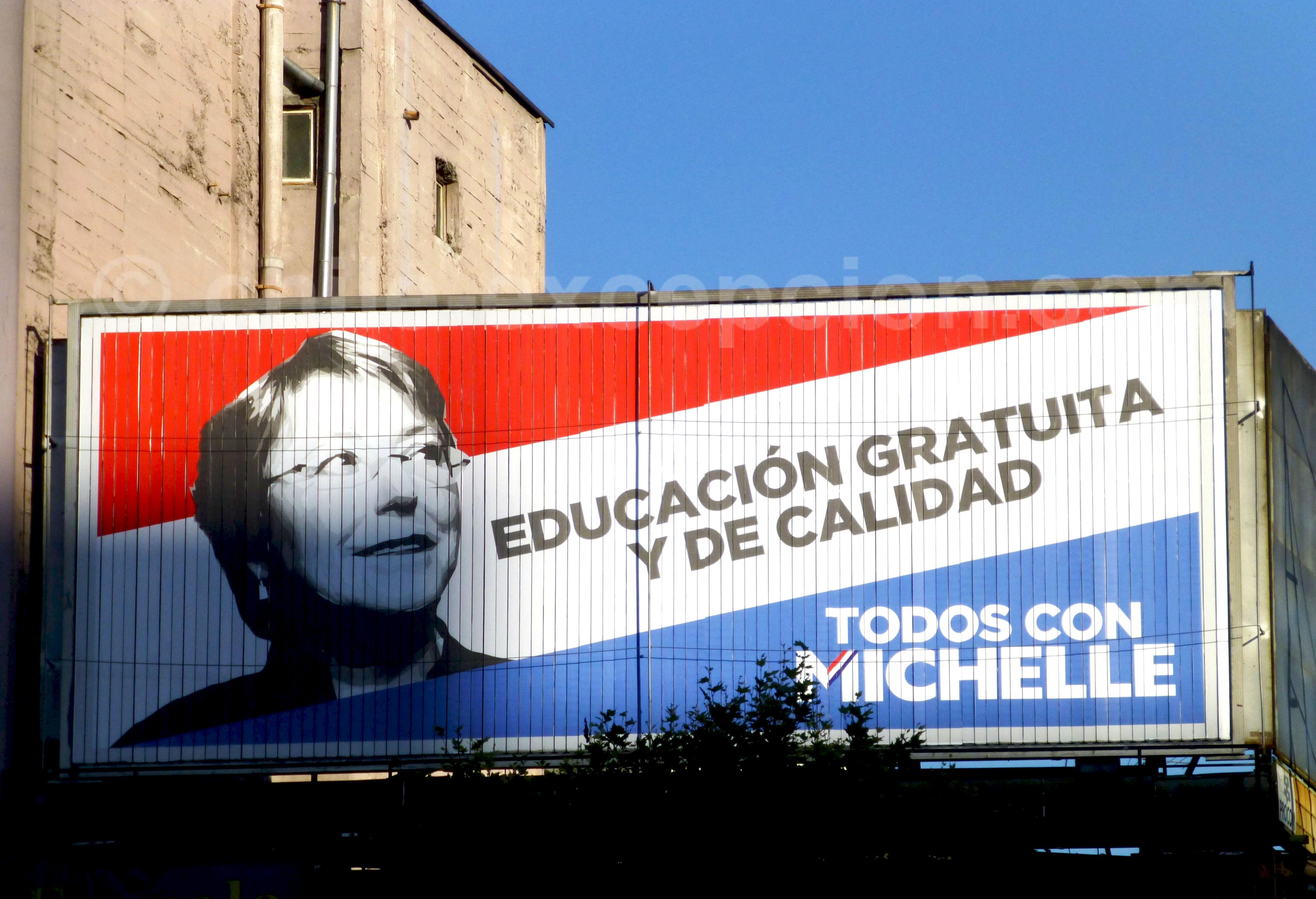Campagne Bachelet 2013 - Crédit RiveraNotario