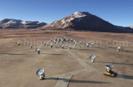 Alma Array - Crédit ESO