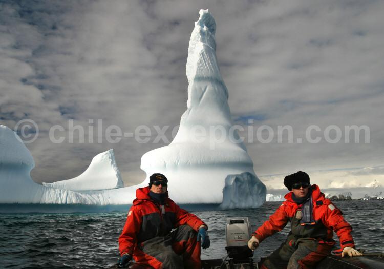 Situation géographique de l'Antarctique