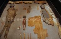 Momies de la culture Chinchorro, musée archéologique San Miguel de Azapa