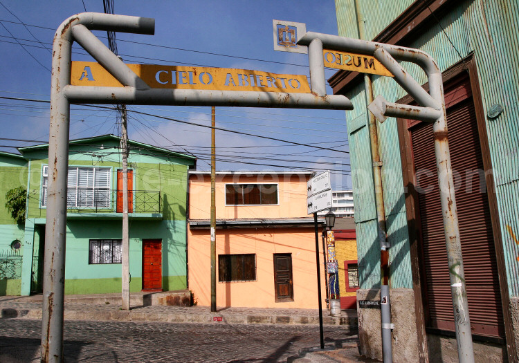 Musée à Ciel ouvert, Cerro Bella Vista, Valparaíso