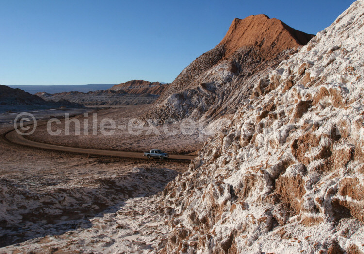 Vallée de La Lune, Cordillère de Sel, Atacama