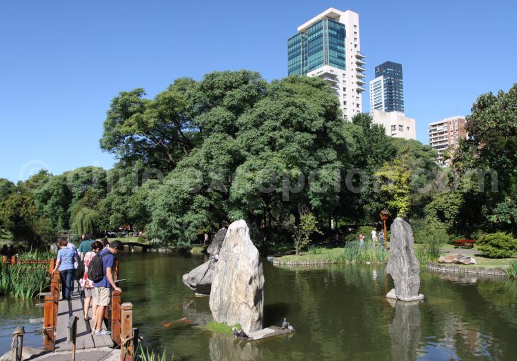 Vue du jardin Japonais, Buenos Aires