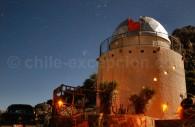 Observatoire de Cancana, Cochiguaz, Valle del Elqui. Crédit Gustavo Miranda