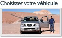 Choisissez votre véhicule
