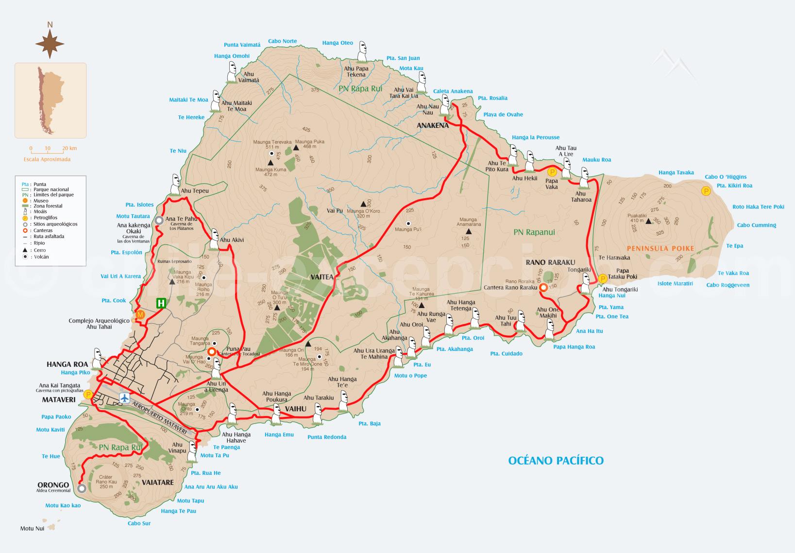 Rapa Nui, la mythique île de Pâques - 12