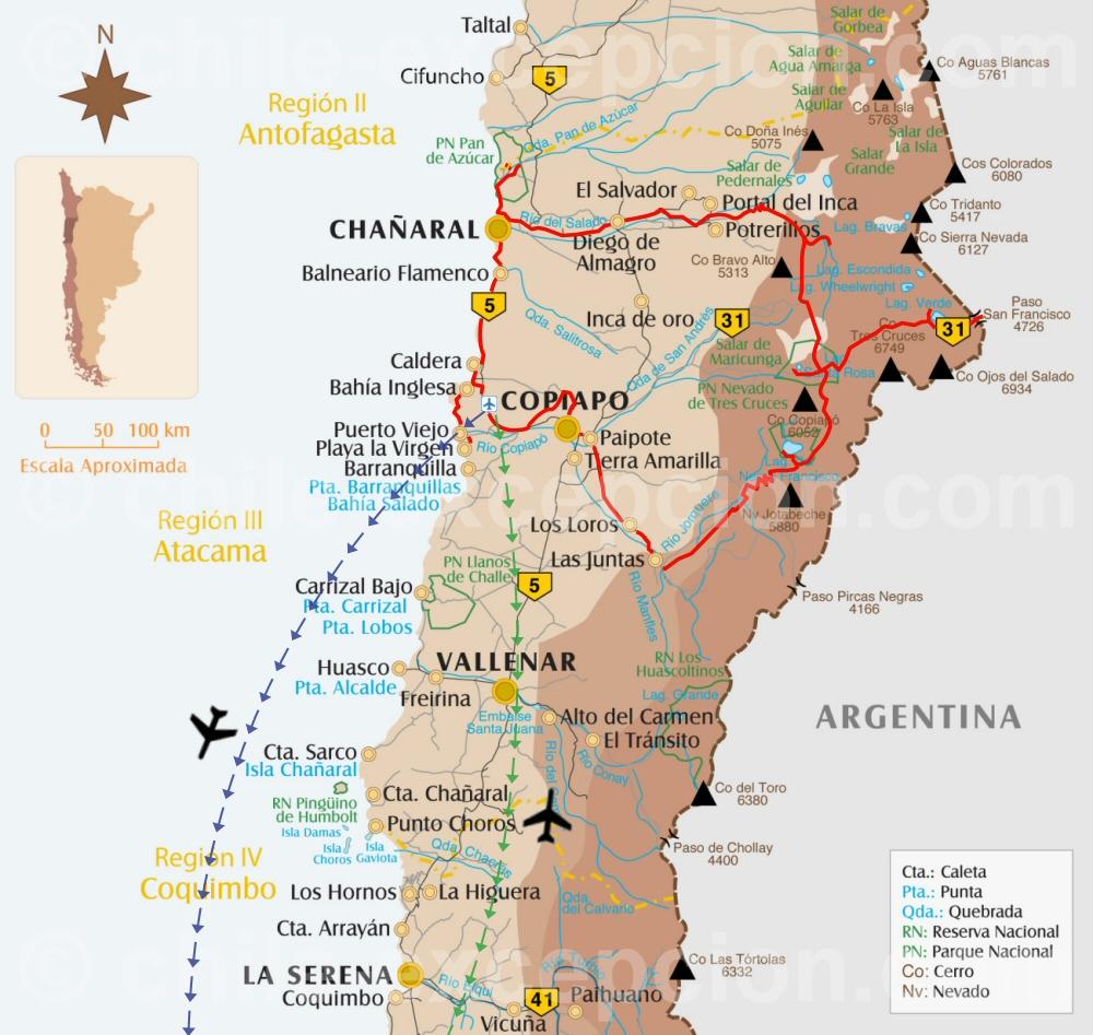 Copiapó : Andes, Dunes et Pacifique - 4