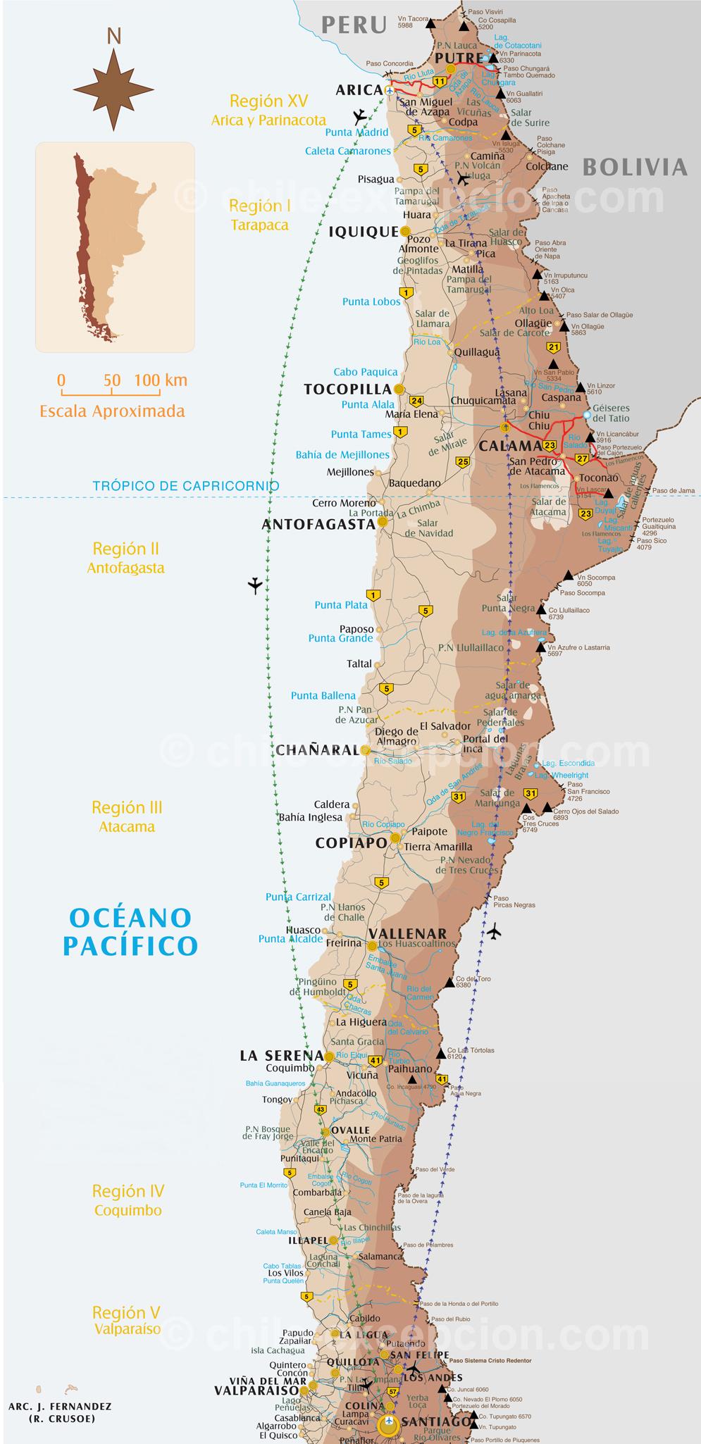 Randonnées volcans du nord Chili - 5