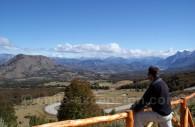 La Route Australe dans la Réserve Cerro Castillo