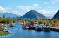 Puerto Chacabuco, région d'Aysén. Crédit mil8es