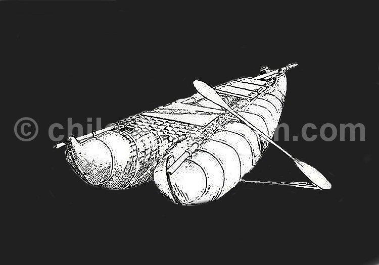 La pêche, l'activité centrale des Changos