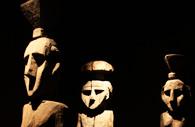 Chemamull, statues en bois