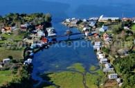 Village prés d'Ancud, île de Chiloé