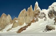 Cirque Los Altares, Champ de glace Sud. Crédit Ignacio Arriagada