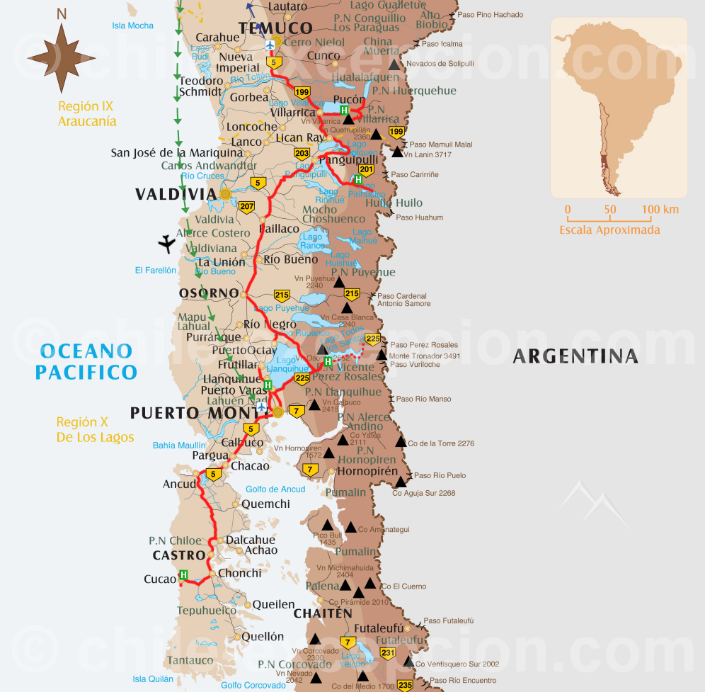 Lacs et volcans de la Patagonie Nord - 9