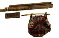 Coiffure et objets Tiwanakus, Museo Chileno de Arte Precolombino
