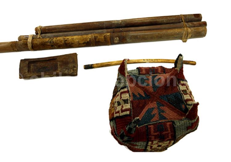 Coiffure objets Tiwanakus