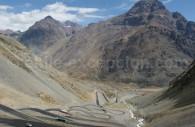 Col Los Libertadores, frontière Chile-Argentine, route 60
