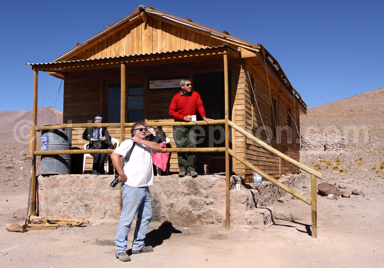 Refuge Santa Rosa, parc Nevado Tres Cruces