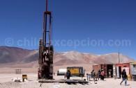 Recherche d'eau, zone de Los Cerros de Barrancas Blancas